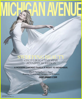 Jennifer Morrison Covers 'Michigan Avenue'