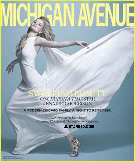Jennifer Morrison Covers 'Michigan Avenue'
