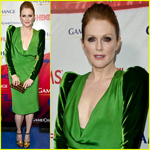 Julianne Moore: Green for 'Game Change' Washington Premiere!