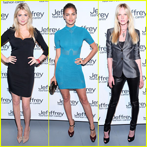 Kate Upton &#038; Irina Shayk: Jeffrey Fashion Cares 2012