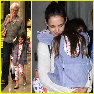 Katie Holmes &#038; Suri: Dinner with Grandma Kathleen!