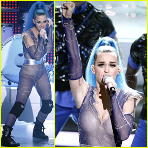 Katy Perry: Echo Awards 'Part of Me' Performance - Watch Now!