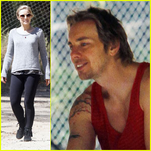 Kristen Bell: Griffith Park with Dax Shepard!
