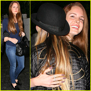 Lana Del Rey: Chateau Marmont Night Out!