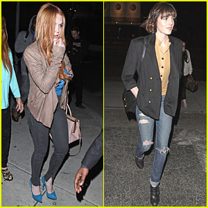 Lindsay Lohan & Aliana: Birthday Party at Gyu-Kaku!
