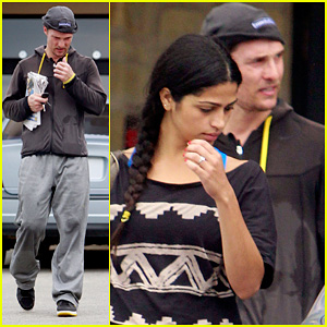 Matthew McConaughey & Camila Alves: Gym Lovers!