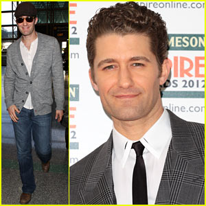 Matthew Morrison Heads To the Empire Awards!