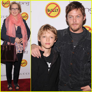 Meryl Streep & Norman Reedus: 'Bully' Screening!
