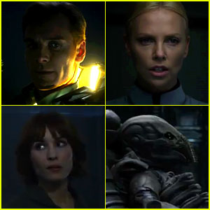 Michael Fassbender & Charlize Theron: 'Prometheus' Trailer!