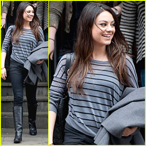Mila Kunis: Glasgow for Craig Ferguson!