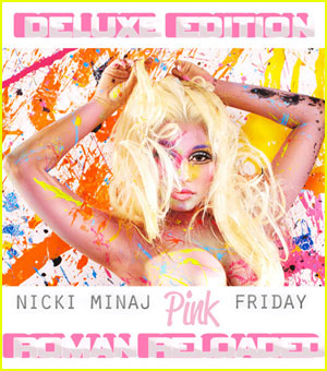 Nicki Minaj: 'Roman Reloaded' Deluxe Edition Cover!