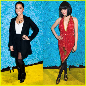 Olivia Munn &#038; Rose McGowan: Just Jared's 30th Birthday Bash!