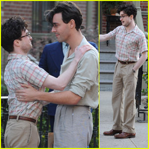 Daniel Radcliffe & Jack Huston: On Set of 'Kill Your Darlings'