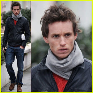Eddie Redmayne: Rainy Sunday Walk