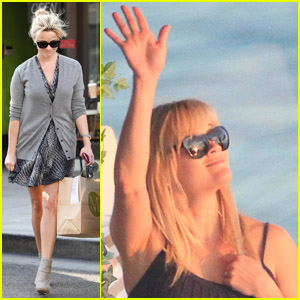 Reese Witherspoon: Back from Rio!