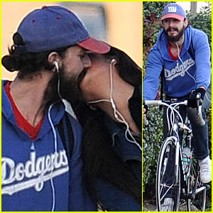 Shia LaBeouf & Karolyn Pho: Kiss Kiss!