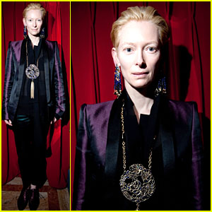 Tilda Swinton: Catherine Baba for Gripoix Presentation