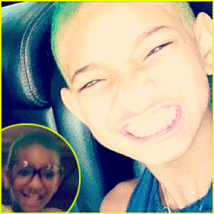 Willow Smith: Green Hair!