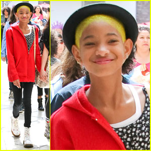 Willow Smith: New Yellow 'Do!