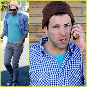 Zachary Quinto: Shaved Eyebrows!