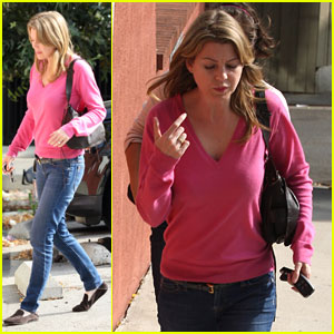 Ellen Pompeo: Pretty In Pink