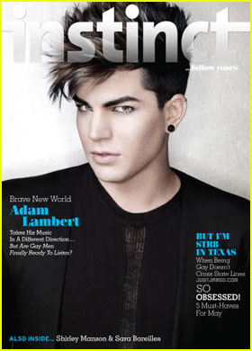 Adam Lambert Covers 'Instinct' May 2012