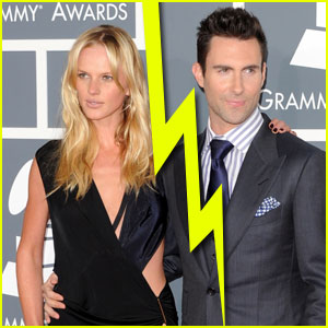 Adam Levine & Anne V Split