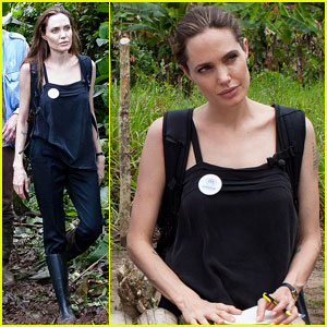 Angelina Jolie: Ecuador Trip for UNHCR
