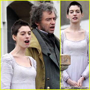 Anne Hathaway &#038; Hugh Jackman: 'Les Mis' Filming!