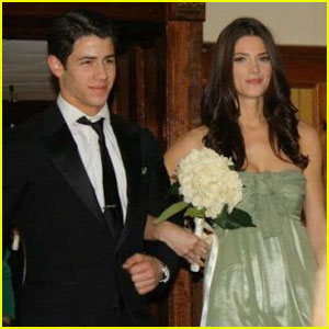 Nick Jonas & Ashley Greene Walk Down the Aisle - Sort Of!