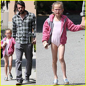 Ben Affleck: Taking Violet To Ballet!