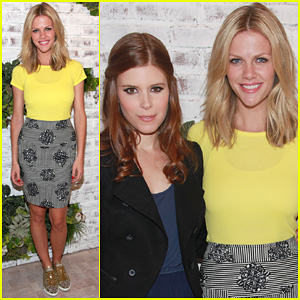 Brooklyn Decker: Splendid Store Opening with Kate Mara!