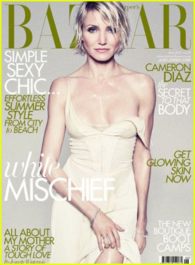 Cameron Diaz Covers 'Harper's Bazaar UK' June 2012