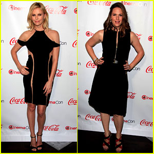 Charlize Theron & Jennifer Garner: CinemaCon Awards!
