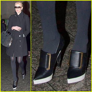 Charlize Theron Puts Her Best Boot Forward