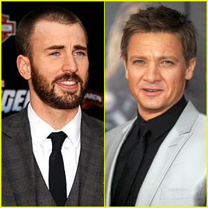 Chris Evans & Jeremy Renner: 'Avengers' Premiere!