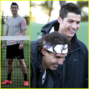 Cristiano Ronaldo & Rafael Nadal Battle It Out for Nike