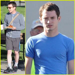 Elijah Wood: Pizza for Lunch on 'Wilfred' Set