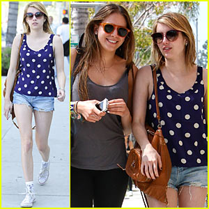 Emma Roberts: La Scala with Christy Cham!