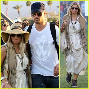 Fergie & Josh Duhamel: Coachella Couple!