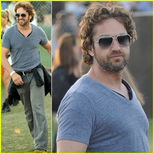 Gerard Butler: Coachella Day Three!