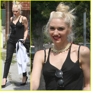 Gwen Stefani: Wednesday Recording Session!
