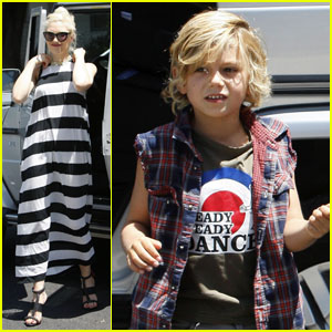 Gwen Stefani: Birthday Party with Kingston & Zuma