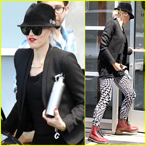 Gwen Stefani: Studio Work With No Doubt!