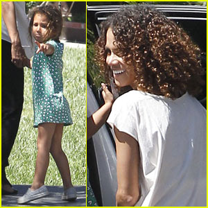 Halle Berry: Curly New Do!