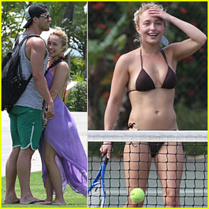 Hayden Panettiere: Hawaii with Scotty McKnight!
