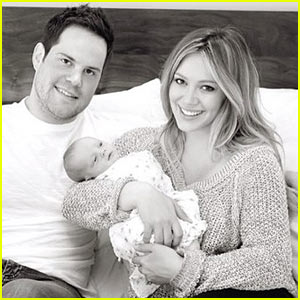 Hilary Duff: First Family Portrait!
