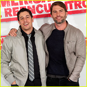 Jason Biggs & Seann William Scott: 'Reunion' in Madrid!