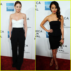 Jennifer Morrison & Jamie Chung: 'Knife Fight' at Tribeca!