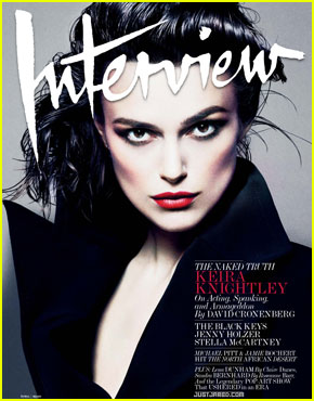 Keira Knightley Covers 'Interview' April 2012